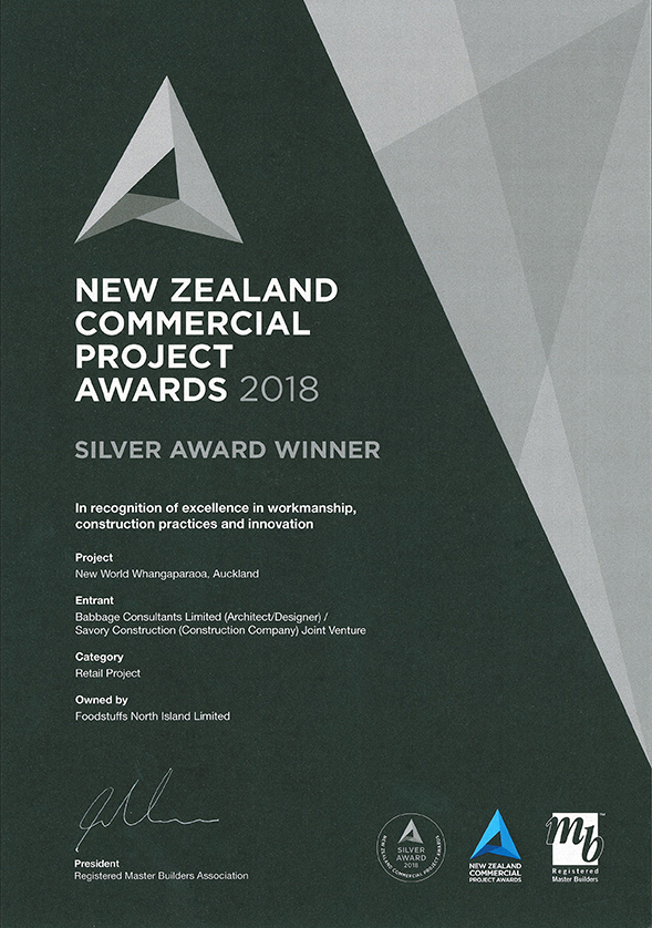 NZ Commercial Projects Awards Silver NW Whangapaoroa