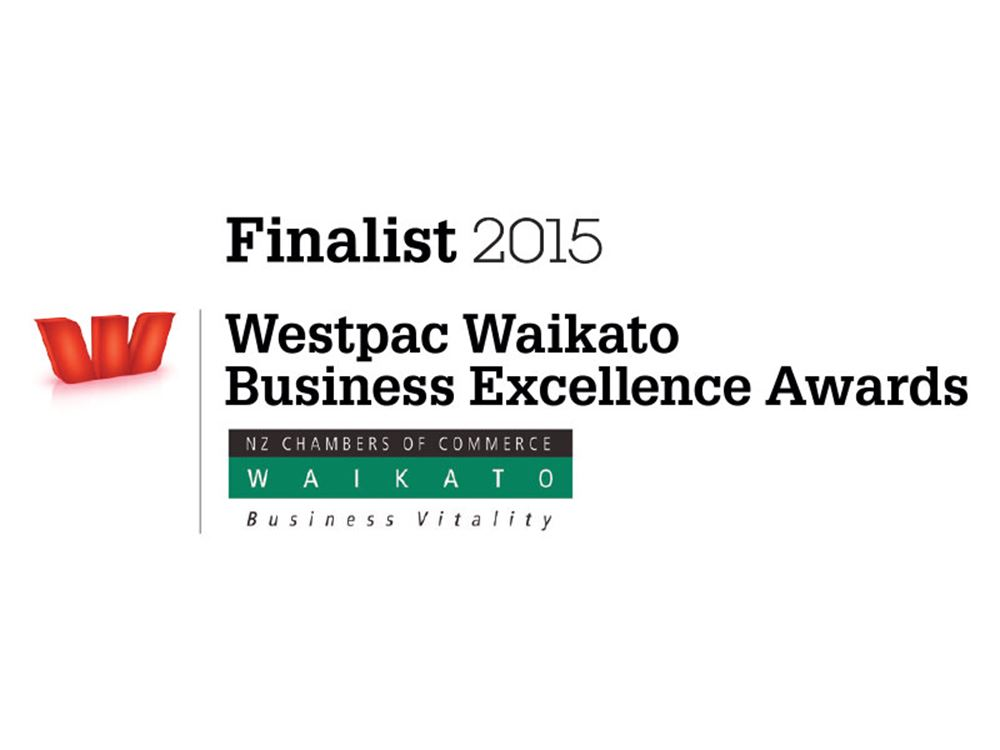 Babbage finalists in Westpac Waikato Business Excellence Awards.