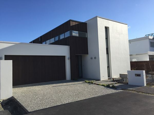 A silver award winner at this year's house of year awards in Christchurch.