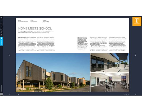 Babbage Architecture Project for City Impact Church features in the latest edition of TRENDS magazine.