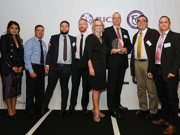 Babbage Consultants have picked up a swag of accolades in recent industry awards. See here the Babbage Building Surveying Team who won the Building Surveying Team of the Year award at the recent RICS annual award ceremony.